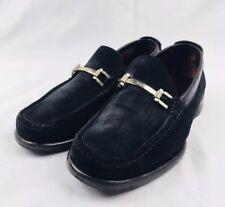 Salvatore Ferragamo Suede Bit Loafers Size Mens 7 EUC