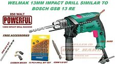 YURI PROFESSIONAL 680W HEAVY 13MM IMPACT DRILL MACHINE SIMILAR TO BOSCH GSB13RE