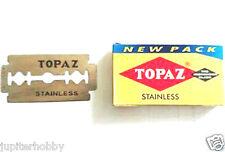 10 Blades - Topaz Stainless Double Edge Razor Blades  - Free Shipping