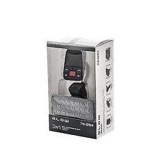 TRASMETTITORE AUDIO FM BLOW USB + ADATTATORE CARICABATTERIA AUTO 2.1A