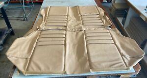 Alfa Romeo GTV 1750 (1967-1971), Rear Seat Kit (Sports Style), Tan Leather