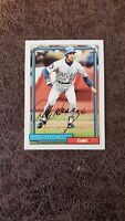 1992 Topps Doug Dascenzo #509 - Chicago Cubs - Autographed!