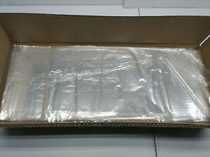 "(1000) Polypropylene Clear Bakery Bag, Plastic Bread Food Bag 8"" x 22"" 12"" x 16"""