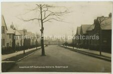 Sheffield, Edensor Road Norwood Estate Real Photo Postcard, C024