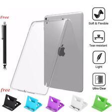 Clear Slim Silicon Back Soft TPU Case Cover For iPad mini 2 4 5 7.9 / Air iPad 5