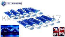 T5 286 LED ULTRA BLUE DASHBOARD LIGHT BULBS XENON 12V LAMP  DIALS WEDGE CAR