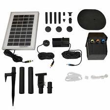 Sunnydaze Solar Pump & Panel Kit With Battery Pack & Led - 79 Gph - 47-Inch