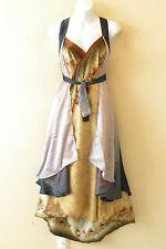 "L625 Vintage Silk Magic 34"" Long Wrap Skirt Halter Tube Maxi Dress + Bonus DVD"