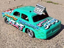Lada Body Shell Kamtec Schumacher Hot Rod Banger Carreras Saloon Stock 589 ABS