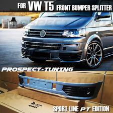 NEW Volkswagen Style Transporter T5 VW Sportline S Front Spoiler Splitter Bumper