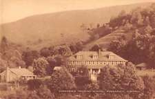 Konnarock Virginia birds eye view Konnarock Training School antique pc Z17072