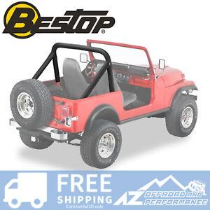 Bestop Sport Bar Cover Replacement 80-86 Jeep CJ5 CJ7 CJ8 Scrambler Black Crush