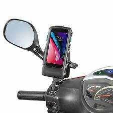 PIAGGIO BEVERLY Medley Apple iPhone 8 Impermeabile Custodia Robusta & spiegelfusshalter