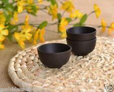 10pcs Chinese yixing Pure Zisha stoneware tea set tea cup black marked teacup