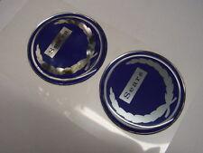 NEW Repro Sears Allstate Vespa Puch Gilera badges  Blue 65mm diameter