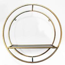 Gold Metal Shelf Arthouse Home Decor Luxury Modern