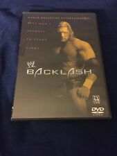 WWF BACKLASH DVD 2002 HULK HOGAN  TRIPLE H STONE COLD