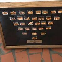 Authentic 1992 U.S. Olympic Fundraising Pin Collection in  Official Frame