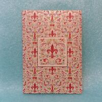 Giglio Fiorentino Kantos Stationery 016525 7 Blank Note Cards 7 Envelopes Italy