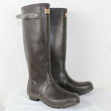 Hunter Ladies Brown Rain Boots Size 7M/8F/ EU 39