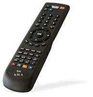 Remote Control 540368 for AWA TV Model : MHDV3245-3 , MHDV3245-03 , MHDV324503