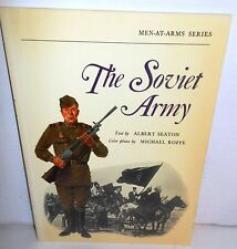 BOOK OSPREY MAA 29* The Soviet Army 1st UNnumbered Edition op 1972