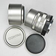 Contax G 90mm f2.8 Sonnar  #7694393 ............ Minty w/Hood,UV,Caps
