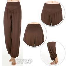 Women Harem Genie Aladdin Causal Gypsy Dance Yoga Baggy Pants Trousers Jumpsuit