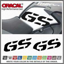 2x GS Black R1200GS ADVENTURE 08-13 Lado Depósito ADHESIVOS PEGATINA STICKERS