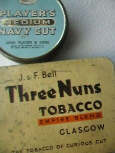 Two Vintage Tobacco Tins