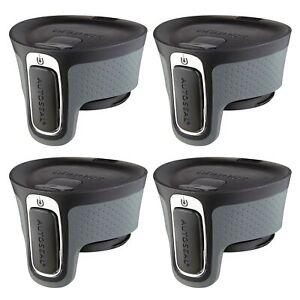 Contigo AUTOSEAL West Loop Easy-Clean Travel Mug Replacement Lid Black (4-Pack)