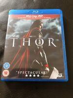 Thor (3D Blu-ray, 2013) Movie VGC Marvel