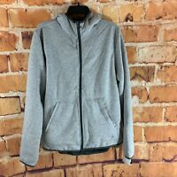 Mens C9 by Champion Full Zip Sherpa Fleece Jacket Concrete Heather M
