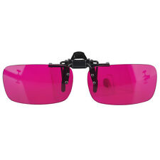 Flippable Clip On Colorblindness Glasses for Red Green Color Blind New