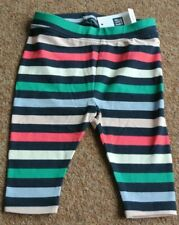 New Gap baby girls cotton crop leggings Multi 6-12 months