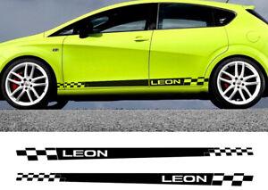X2 Seat Leon MK3 MK2 Racing Graphical Auto Body Decor Wrap Decals Accessories