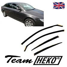 DSK28332 SKODA SUPERB mk2 LIFTBACK 2008-2015  WIND DEFLECTORS  4pc HEKO TINTED