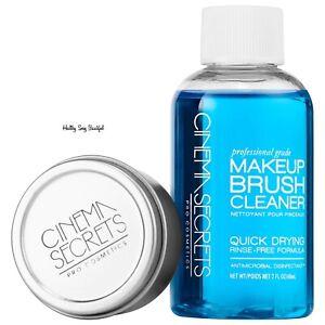 Cinema Secrets Brush Cleaner Pro Starter Kit + Mini Tin 2 oz.