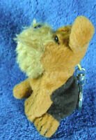 *1915*   Plush puppy dog keyring  holder - 8cm - CE