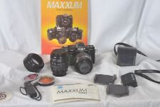 Minolta Maxxum 7000 outfit, 2 lens, filters book & more Mint! working...