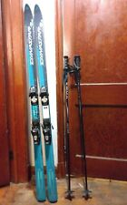 Dynastar T168 Skis W/ Salomon 800 Bindings.Micronfinish & Poles