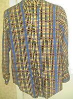 Vintage Jason Clarke Men's Button Up Front Shirt  Large