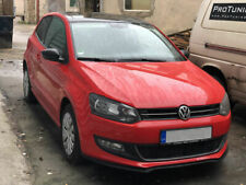 For VW Polo 6R Standard P-Performance Front bumper lower spoiler lip Valance