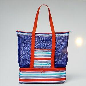 Sun Squad Beach Bag With Detachable Cooler