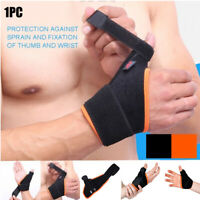 Dual Thumb Support Splint for Hand Arthritis Aid Pain Relief Spica Hand Guards.