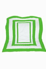 Baby Doll Bedding Modern Hotel Style Crib Comforter, Green Apple