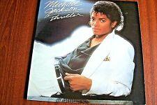 "Michael Jackson LP ""Thriller"" Vg+/Ex g/fold Epic 85930 from 1982 + lyric inner"