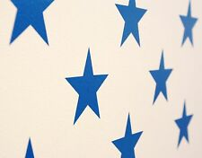 Cool Star Vinyl Wall Art Decals/Stickers - Various Colours & Sizes