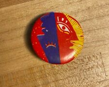 1986 Omd Pacific Age Tour Button Orchestral Manoeuvres in the Dark
