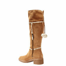 WOMEN'S TIMBERLAND *BRINDA TALL BOOT* COLOR~BROWN SIZE 7.5 M